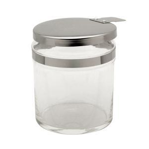 セレクション コットンジャー ガラス製 250ml W75×H95mm 【ネコポス不可】 ネイル用品の専門店 プロ用にも g-nail