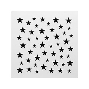 SHAREYDVA シャレドワ ネイルシール スター ブラック 【ネコポス対応】 ネイル用品の専門店 ネイル シール プロ用にも|g-nail