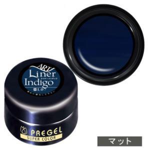 PREGEL プリジェル カラーEx ジェルネイル カラージェル 4g L07 ライナーインディゴ 【ネコポス対応】|g-nail