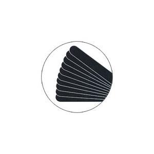 SHAREYDVAシャレドワ 黒エメリー 10本セットグリット180/180【ネコポス対応】 ネイル用品の専門店 セット プロ用にも|g-nail