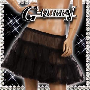 ミニ パニエ ダンス 61512 黒|g-queen