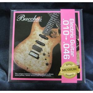 Bacchus エレキ・ギター弦 ミディアム .010〜.046