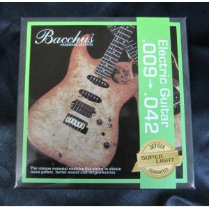 Bacchus エレキ・ギター弦 スーパー・ライト .009〜.042