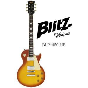 Blitz by AriaProII BLP-450 HB(Honey Burst) ブリッツ エレキギター ハニー・バースト|g-sakai
