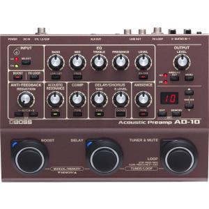 BOSS AD-10 Acoustic Preamp / D.I. ボス アコースティック・プリアンプ / ダイレクトボックス|g-sakai