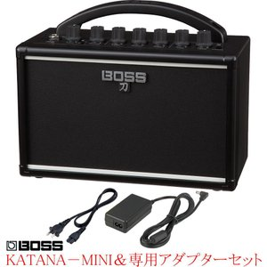 BOSS KATANA-MINI Guitar Amplifier 《専用アダプターPSB-100付...