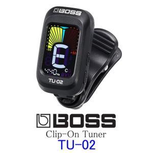 《※入荷しました。 在庫あります。》 BOSS TU-02 Clip-On Tuner ボス クリップ・オン・チューナー クリップ・チューナー|g-sakai