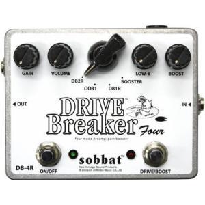 sobbat DRIVE Breaker Four DB-4R Overdrive/Distortion/Booster ソバット ドライブ・ブレイカー オーバードライブ/ディストーション/ブースター|g-sakai