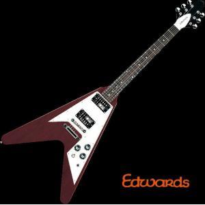 EDWARDS E-FV-120D Cherry エドワーズ エレキギター|g-sakai