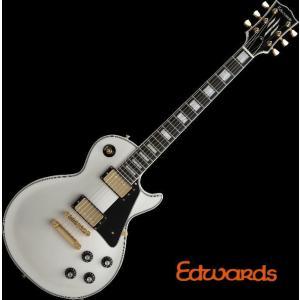 EDWARDS E-LP-130CD White エドワーズ エレキギター|g-sakai
