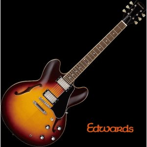 EDWARDS E-SA-160LTS/Tabacco Sunburst エドワーズ エレキギター セミアコ|g-sakai
