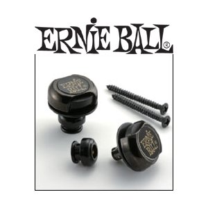 ERNIE BALL STRAP LOCKS BLACK #4601 アーニーボール ストラップ・ロックス (ブラック) g-sakai