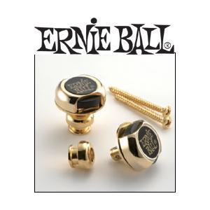 ERNIE BALL STRAP LOCKS GOLD #4602 アーニーボール ストラップ・ロックス (ゴールド) g-sakai