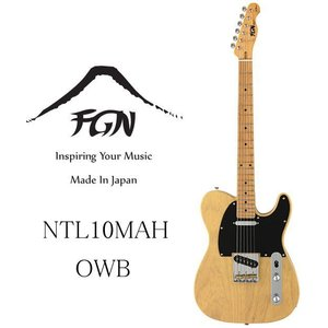 FGN FUJIGEN NTL10MAH OWB(Off White Blonde) Neo Classic Guitar Made in Japan フジゲン ネオ・クラシック・エレキ・ギター 日本製|g-sakai