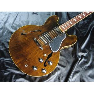 【店頭展示品】 Gibson ES-335 1970s Walnut 【#11227717】ギブソン ポンプ・ポリッシュ/クロス コンボ サービス|g-sakai