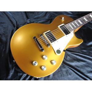 【店頭展示品】 Gibson Les Paul Tribute 2017 T (Satin Gold)【#170051331】ギブソン ポンプ・ポリッシュ/クロス コンボ サービス|g-sakai