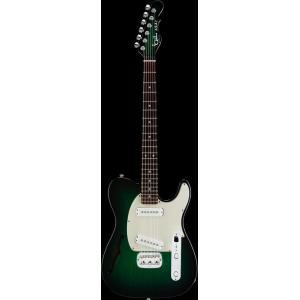 G&L USA ASAT Special Semi-Hollow【Greenburst/R】 Made in U.S.A. ジー・アンド・エル アサット・スペシャル セミ・ホロウ(お取り寄せ商品)|g-sakai