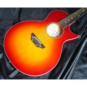 Grass Roots G-AC-45  Cherry Sunburst グラス・ルーツ アコースティック・ギター|g-sakai