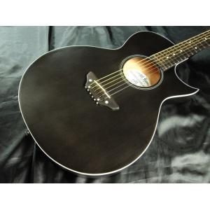 Grass Roots G-AC-45   See Thru Black Satin グラス・ルーツ アコースティック・ギター|g-sakai