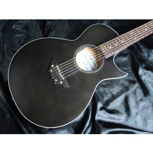 Grass Roots G-AC-50N   See Thru Black Satin グラス・ルーツ エレガット アコースティック・ギター|g-sakai