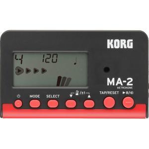 KORG MA-2-BKRD 【Black & Red】 コルグ 電子・メトロノーム 【ブラック・レッド】|g-sakai