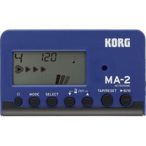 KORG MA-2-BLBK 【Blue & Black】 コルグ 電子・メトロノーム 【ブルー・ブラック】|g-sakai