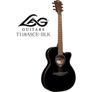 [※お取り寄せ商品] LAG GUITARS Tramontane 118 T118ASCE-BLK ラグ・ギターズ エレクトリック・アコースティックギター|g-sakai