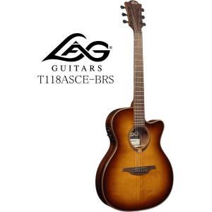 [※お取り寄せ商品] LAG GUITARS Tramontane 118 T118ASCE-BRS ラグ・ギターズ エレクトリック・アコースティックギター|g-sakai