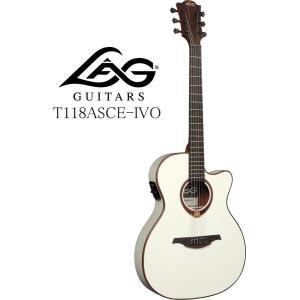 [※お取り寄せ商品] LAG GUITARS Tramontane 118 T118ASCE-IVO ラグ・ギターズ エレクトリック・アコースティックギター|g-sakai