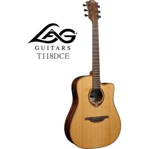 [※お取り寄せ商品] LAG GUITARS Tramontane 118 T118DCE ラグ・ギターズ エレクトリック・アコースティックギター|g-sakai
