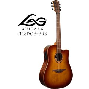 [※お取り寄せ商品] LAG GUITARS Tramontane 118 T118DCE-BRS ラグ・ギターズ エレクトリック・アコースティックギター|g-sakai