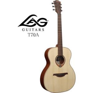 《※入荷しました。 在庫あります。》 LAG GUITARS T70A ラグ・ギターズ アコースティックギター|g-sakai
