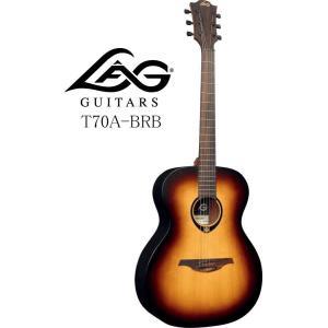 《※入荷しました。 在庫あります。》 LAG GUITARS T70A BRB ラグ・ギターズ アコースティックギター|g-sakai