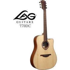 LAG GUITARS TRAMONTANE 70 T70DC ラグ・ギターズ アコースティックギター|g-sakai