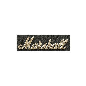 Marshall 【LOGO00008】 Amp Logo Small Gold マーシャル ロゴマーク 小 ゴールド(ビンテージタイプ 1959SLP・1962・2245・1960TV用) アンプ ロゴ|g-sakai