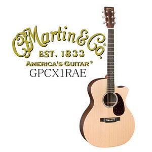 Martin GPCX1RAE 【X SERIES】 マーティン アコースティック・ギター エレアコ・ギター 只今カポタスト・サービス中!! g-sakai