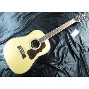 手軽に扱えるシンプルなエレアコ・ギターながらアンプを通さずアコースティックとしての使用でも楽器として...