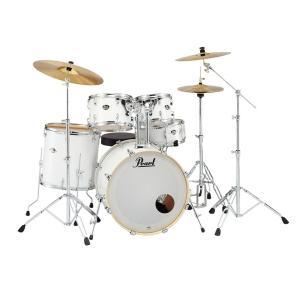 Pearl EXPORT EXX 【EXX725S/C】 #33 Pure White パール ドラム・セット シンバル付ドラムフルセット (スタンダードサイズ) g-sakai