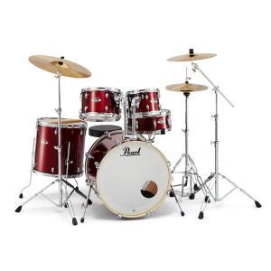 Pearl EXPORT EXX 【EXX725S/C】 #760 Burgundy パール ドラム・セット シンバル付ドラムフルセット (スタンダードサイズ)|g-sakai
