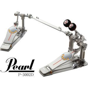 Pearl P-3002D / P-3002DL Demon Drive パール デーモンドライブ ドラム・ツイン・ペダル 今だけフットワークDVD付|g-sakai