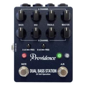 [※お取り寄せ商品] Providence DBS-1 DUAL BASS STATION プロビデンス デュアル・ベース・ステーション 2ch・ベース・プリアンプ|g-sakai