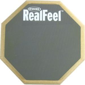 EVANS RF6D エバンス 練習用パッド リアルフィール RealFeel 6ンチ(15.2cm)両面用練習パッド|g-sakai