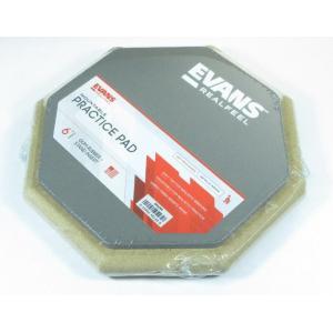 EVANS RF6GM エバンス 練習用パッド リアルフィール RealFeel  スタンド取り付け用ねじ8mmネジ穴付き|g-sakai