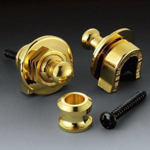 Schaller Security Lock GO Gold シャーラー セキュリティ・ロック ストラップ・ロックピン ゴールド g-sakai