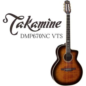 Takamine DMP670NC VTS タカミネ エレアコ エレガット ギター ハードケース付属|g-sakai
