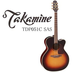 Takamine TDP051C SAS タカミネ エレアコ・ギター ハードケース付属 g-sakai