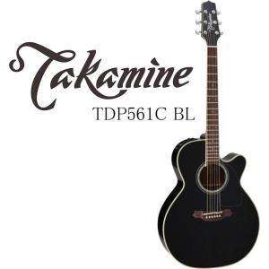 Takamine TDP561C BL タカミネ エレアコ・ギター ハードケース付属 g-sakai
