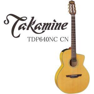 Takamine TDP640NC CN タカミネ エレアコ エレガット ギター ハードケース付属|g-sakai