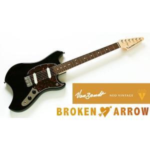 Vanzandt BROKEN ARROW Model Black (BK) バンザント エレキギター ブロークン・アロウ|g-sakai