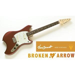 Vanzandt BROKEN ARROW Model Burgundy Mist (BUM) バンザント エレキギター ブロークン・アロウ|g-sakai